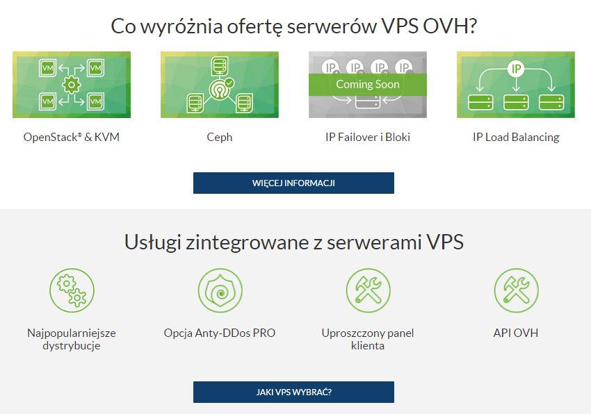 OVH – serwery VPS SSD i Cloud
