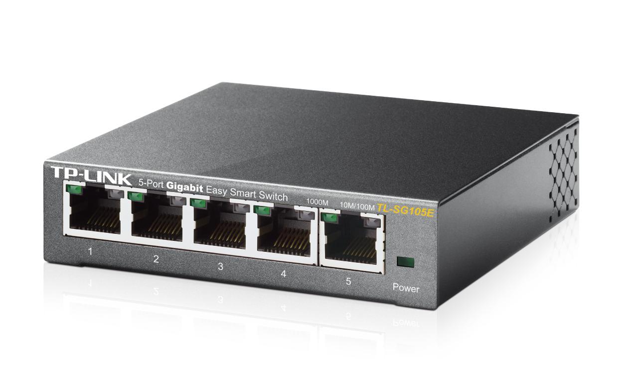 TP-LINK TL-SG105E – gigabitowy przełącznik typu Easy Smart